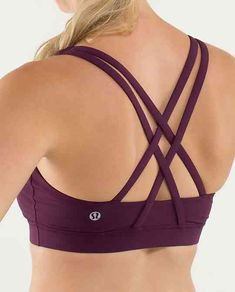 One of my absolute favorite bras for any cardio or strength class!