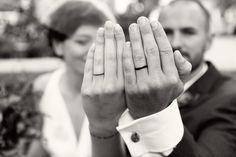 De aliança de casamento.