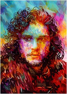 Pixalry — Game of Thrones Portraits - Created by Alessandro...