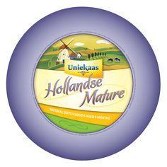 HOLLANDSE MADURO Hollandse maduro es un Gouda envejecido que tiene un perfil de sabor a nuez con matices subyacentes de la dulzura. Es ligeramente más firme y suave, el interior es un amarillo pálido, oscureciendo a una cáscara de naranja-amarillo.