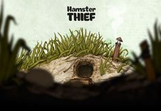Ознакомьтесь с моим проектом @Behance: «Hamster Thief» https://www.behance.net/gallery/31350513/Hamster-Thief