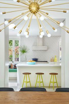 Mid-century chandeliers that are going to make a statement in your modern house   www.delightfull.eu/en   Visit for more inspirations related to: mid-century modern house, mid-century chandeliers, mid-century pendant lamps, mid-century ceiling lamps, mid-century lighting, mid-century lamps, mid-century modern, industrial lamps, industrial loft ideas, industrial decor, industrial interiors