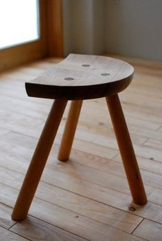 "Three legs stool ""wood stove stool"""