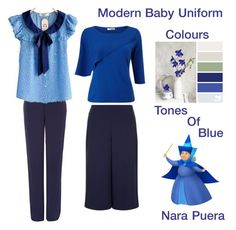 """Modern Baby Uniform (Blue)"" by narminq on Polyvore featuring Princesse tam.tam, Jaeger, Precis Petite and modern"