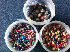 Colourful Ugandan paper beads