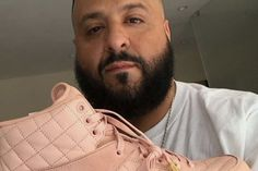 Here's How DJ Khaled Lucked out With a Pink Pair of Just Don x Air Jordan 2s