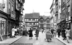 Ludlow, High Street c.1950, from Francis Frith