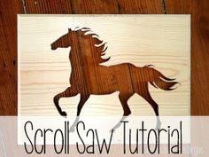 In-depth Tutorial on using a scroll saw! {Reality Daydream}