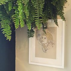 Just hung a beautiful plant above my self-portrait - dressing with beautiful ferns Self Portrait Dress, Surface Pattern Design, Beautiful Space, Ferns, Home Renovation, Plant Hanger, Interior Styling, Dressing, London