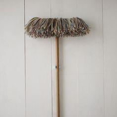Big wooly dry mop: Sladust Mop Co./West Elm