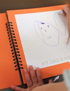 Perfect DIY fathers day book from paper coterie.