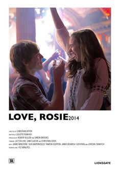 Iconic Movie Posters, Iconic Movies, Good Movies, Love Rosie Movie, Series Poster, Movie Hacks, Poster Minimalista, Movie Prints, Movie Covers