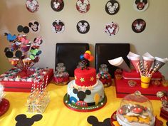 Mickey Mouse Birthday Party Ideas | Photo 17 of 29 | Catch My Party