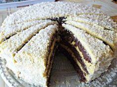 Zdravý fitness kokosový dort: Vždy když máme s kamarádkami oslavu, tak ho připravujeme. Nepřibereme ani gram a vždy se sní celý!