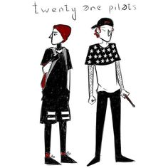 Twenty one pilots by ThePlag ❤ liked on Polyvore featuring filler, phrase, quotes, saying and text