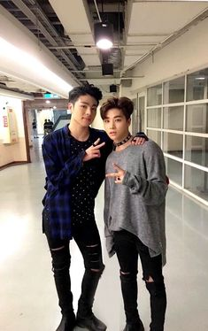 junhoe and jinhwan | ikon