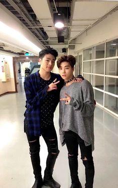 junhoe and jinhwan | ikon