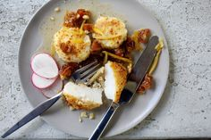 Dinner in 20 minutes: Almond-Crusted Scallops Pan Sizes, Preserved Lemons, Salted Butter, Lemon Butter, Mini Foods, Creamy Sauce, Almond Recipes, Savoury Dishes, Scallops