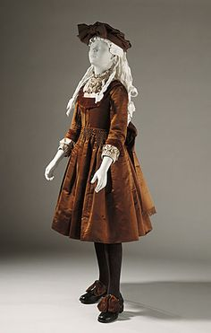 Girl's dress, ca 1890 US, LACMA #victorian #children