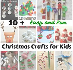 10+ Easy and Fun Christmas Crafts for Kids | Craft Learn & Play