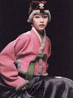 한복 hanbok, Korean winter