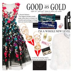 """Untitled #2407"" by anarita11 ❤ liked on Polyvore featuring Marchesa, Manic Panic NYC, Valentino, INIKA, Miu Miu, Valextra, Effy Jewelry, Various Projects and Lash Star Beauty"