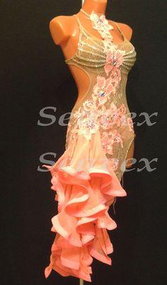 Woman Ballroom Latin Cha Cha Ramba Dance Dress US 6 UK 8 Same Color in Clothing, Shoes & Accessories, Dancewear, Adult Dancewear | eBay