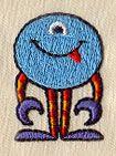 Menagerie Monster 3 design (UT5338) from UrbanThreads.com
