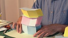 Pop-Up Tutorial 30 - V-fold action - Building a Tower