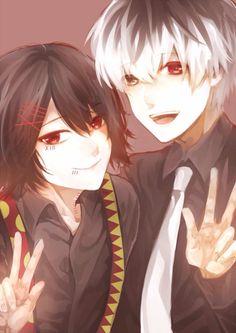 Juuzou & Haise | Tokyo Ghoul :RE