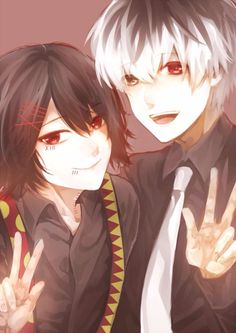 Juuzou & Haise | Tokyo Ghoul :RE