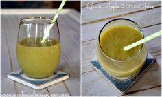 Sweet Caroline's Corner: Green Apple & Kiwi Juice (Suco de Maçã Verde & Kiwi)