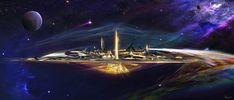 Asgard - Thor concept art by Craig Shoji