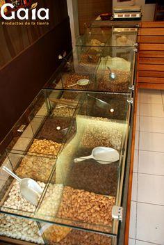 Frutos secos a granel @ Gaia, Productos de la Tierra