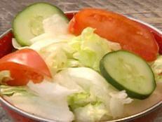 Florida Citrus Garden Salad recipe from Robert Irvine via Food Network Robert Irvine, Citrus Garden, Meat Fruit, Florida Food, Cold Dishes, Orange Recipes, Health Eating, Side Recipes, Food Network Recipes