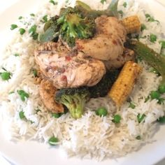 The Body Coach: Rice & peas with Jamaican jerk chicken #LeanIn15