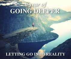 """Letting Go Into Reality (Nov 9–Dec 20)  We can free ourselves from much of our suffering by becoming more ethical, more mindful, and more compassionate, but becoming a more skillful, """"better"""" person isn't enough. In order to bring about the maximum degree of freedom from suffering we have to radically change the way we see ourselves, and our relation with the world. This change comes about by developing insight. http://www.wildmind.org/goingdeeper2015/insight"""