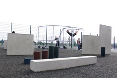 Parkour park training facility designed and built by Freemove. www.freemove.co.uk