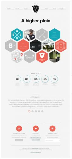 Honeycomb pattern - Buffalo   Web Development  E Commerce