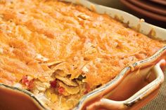 King Ranch Chicken Casserole - 101 Best Comfort Food Classics - Southernliving…