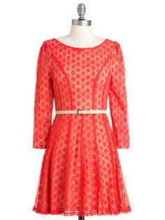 Cherry Tomato Salad Dress: 100 Lace Dresses for Summer: Style: teenvogue.com#slide=35