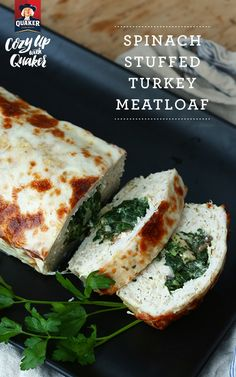 Fill your house with savory scents this holiday season! Your table of 8 is sure to love our Spinach Stuffed Turkey Meatloaf.