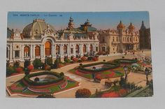 Monaco - Monte Carlo - Le Casino. Unused, undated
