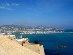 Ibiza vista das muralhas.