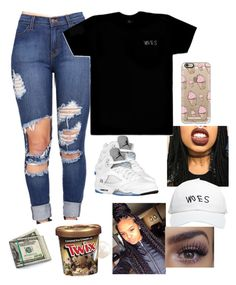 Untitled #78 by baby-boogaloo on Polyvore featuring polyvore, fashion, style, October's Very Own, Casetify and Disney