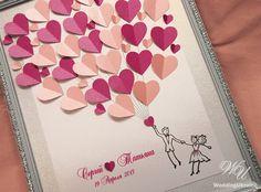 Invitado libro boda alternativa invitado libro por WeddingUkraine
