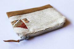 Boho Aztec Purse Zipper Card Holder Coin Purse Change