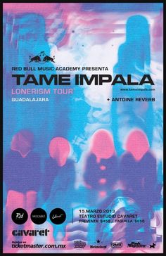 TAME IMPALA – 15 DE MARZO 2013 @ TEATRO ESTUDIO CAVARET http://www.kavolta.com/agenda/tame-impala-15-de-marzo-2013-teatro-estudio-cavaret/