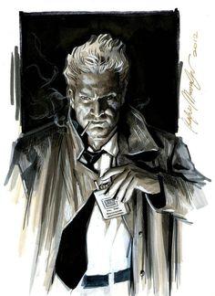 John Constantine commission by felipemassafera.deviantart.com on @deviantART