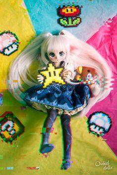 Nebula (Custom Mini Dollfie Dream DDH-01) | http://orchiddolls.wordpress.com/